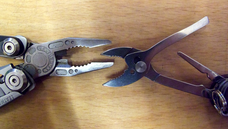 Pliers compared