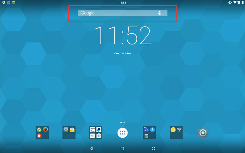 them s broth remove search bar from android lollipop