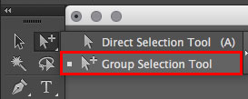 Make sure you're using the Group Selection Tool