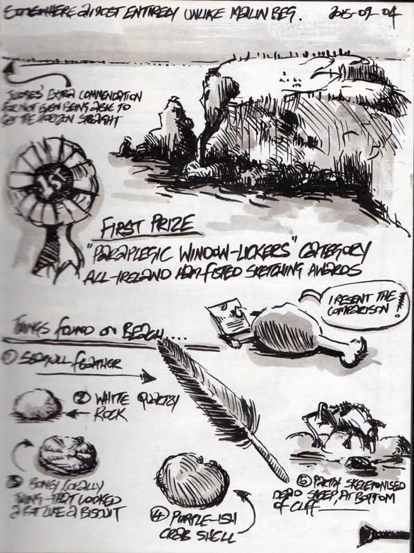 Ireland Sketchbook 2015 –Page 03