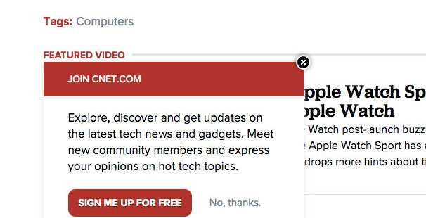 ByeBye CNET! –I'll not CNET you later