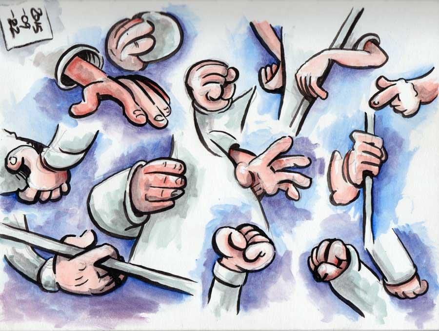 Albert Uderzo Inspired Hand Doodling Session –Page02