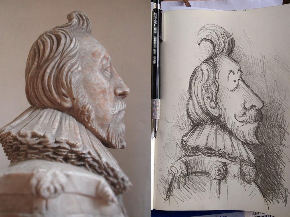 26th July 2018 - Dr John Seaman by Samuel Baldwin of Stroud c.1623