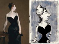 9th August 2018 - Portrait of Madame X by John Singer Sargent 1884