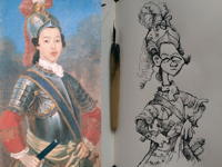 27th September 2018 - Xiang Fei by Giuseppe Castiglione C1760