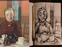 14th November 2018 - Mrs Mounter by Harold Gilman 1916
