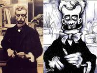 30th Jan 2019 - Léon Spilliaert self-portrait 1907-1908