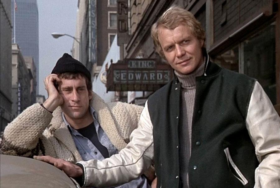 Paul Michael Glaser [L] as Starsky, David Soul [R] as Hutch