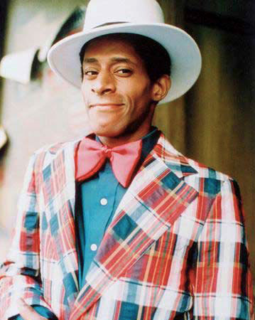 Huggy Bear in one of his more subdued numbers