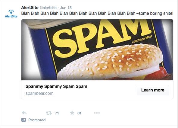 Sponsory-spam