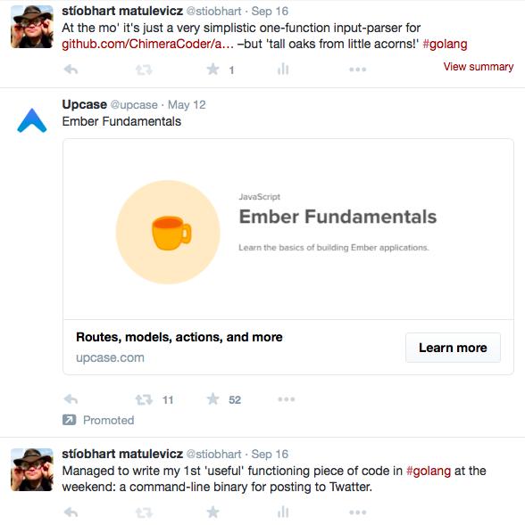 Twitter without my custom uBlock Origin rule